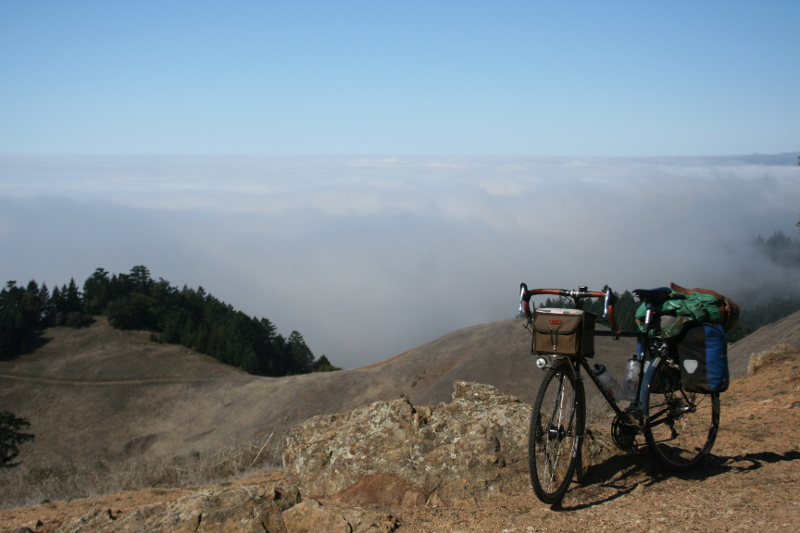 Off West Ridgecrest, just before Bolinas Ridge