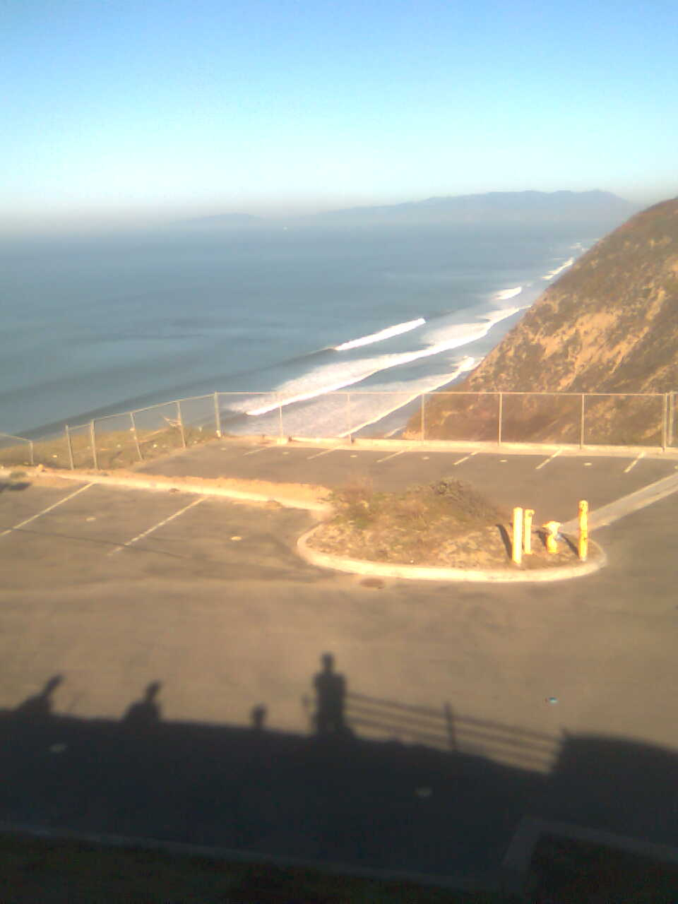 View from the Korean church in Pacifica